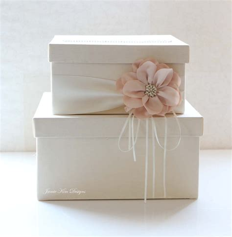 Personalized Wedding Gift Card Box - wedding card box wedding money box gift card box custom made