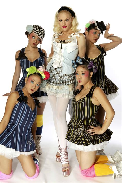 gwen stefani harajuku girls rock steady photoalbum