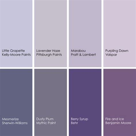 shades of purple paint shades of purple colors pinterest