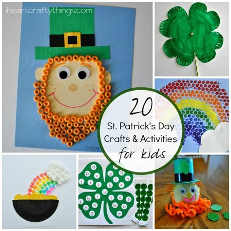 st s day craft 20 st s day crafts and activities for i