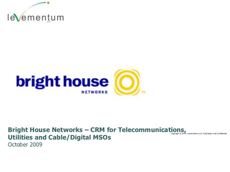 bright house networks login levementum bright house networks crm for telco utilities cable di