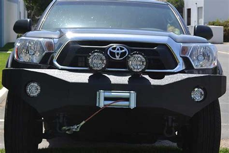 2014 Toyota Tacoma Front Bumper Armor 2012 2014 Toyota Tacoma Front Winch Bumper