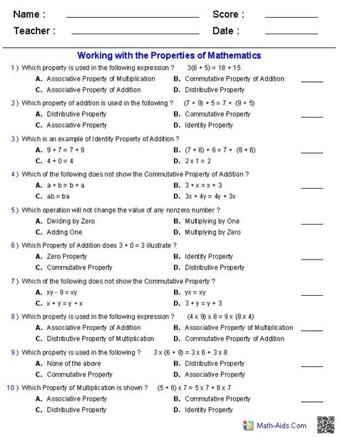 Integrated Math Worksheets by Integrated Math 2 Worksheets Algebra 2 Worksheets