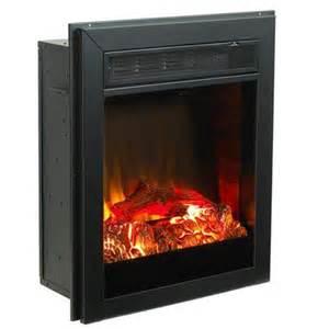 paramount muskoka black electric fireplace insert 21