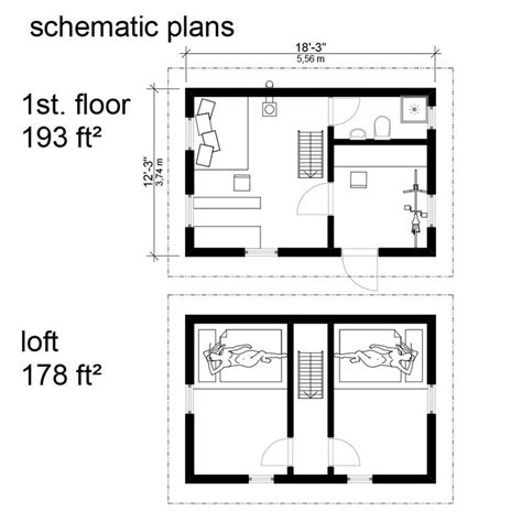 gambrel roof house floor plans apartments open floor plan 93 best tiny homes floor plans images on pinterest small