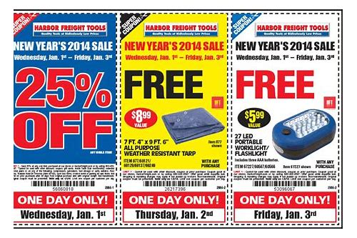 online coupons for harbor freight tools