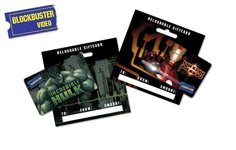 Blockbuster Gift Cards - blockbuster gift cards marvel by julie santomero at coroflot com