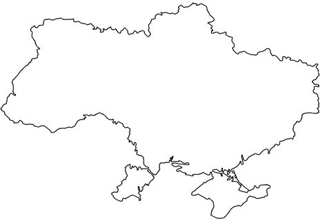 ukraine map coloring page image blank map of ukraine png thefutureofeuropes wiki