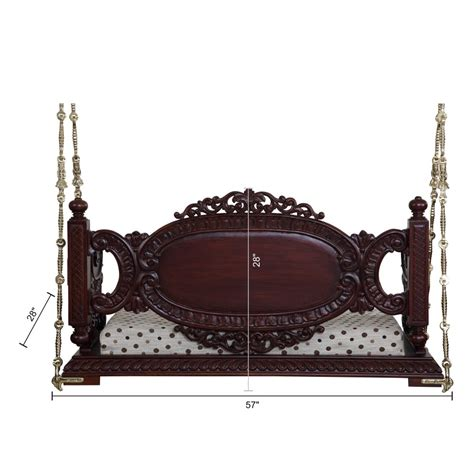 indian swings in usa beautiful carved walnut indian traditional royal swings