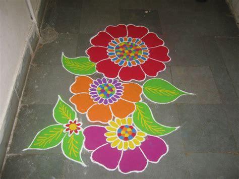 flower design youtube rangoli flower drawing rangoli flower design free hand