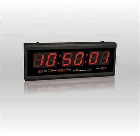 Jam Led Digital Tl 4819 digital led clock wall clock office clock tl 4819 price review and buy in dubai abu dhabi