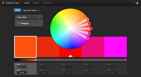 how to a color scheme that matches your banner image