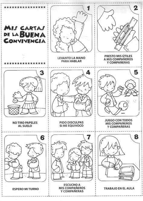 dibujos de normas de convivencia en la escuela en computacion dibujos para colorear normas de convivencia imagui