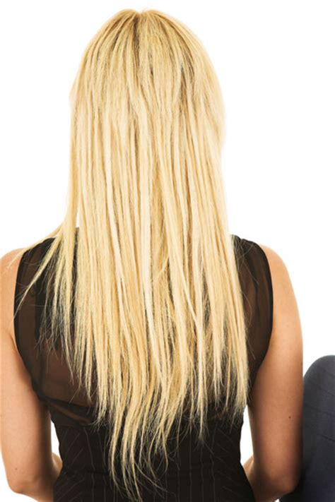 pictures of v shaped hairstyles long hair with layers back view