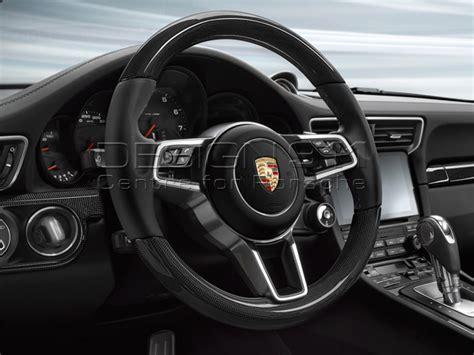 porsche steering wheel porsche 991 sports multi function steering wheel in carbon