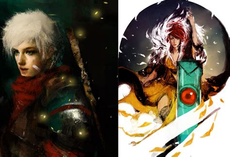 like transistor and bastion bastion transistor wip by muju on deviantart