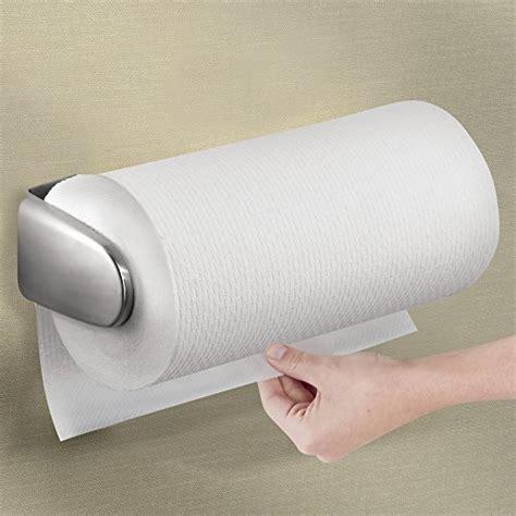 mdesign wall mount paper towel holder dispenser mounts