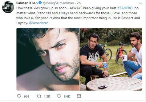 new actor zaheer iqbal salman khan reveals why he is launching zaheer iqbal