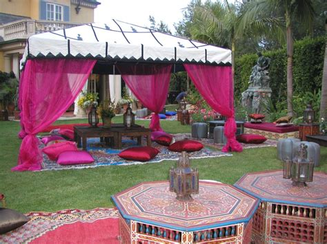 Ideas For Backyard Birthday Party Sweet16 Moroccan Birthday Party