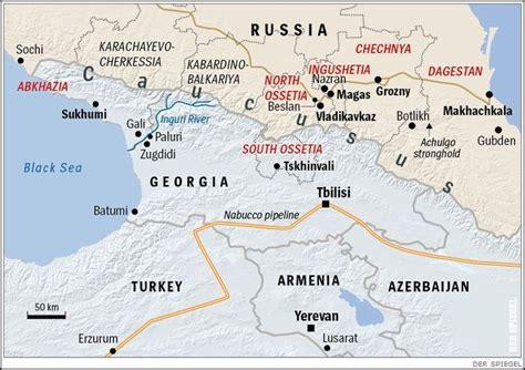 russia turkey map map of abkhazia and south ossetia ingushetia