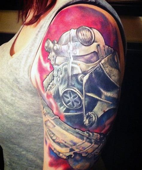 brotherhood of steel tattoo fallout 3 brotherhood of steel this is amazing