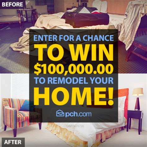 win a home makeover sweepstakes home remodel contest