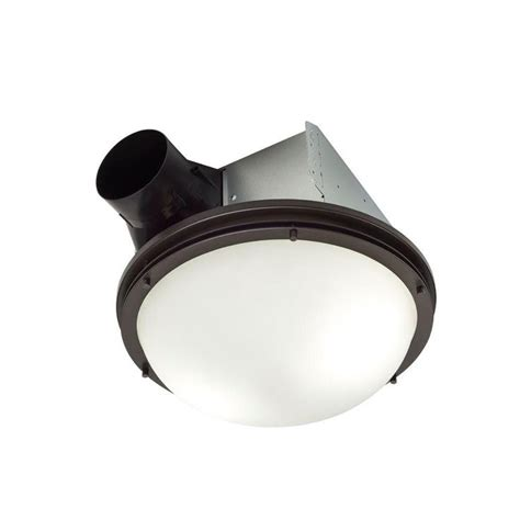 oil rubbed bronze bathroom exhaust fan with light nutone invent decorative oil rubbed bronze 80 cfm ceiling