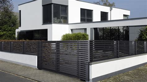 modern house fence design fence design elegant and beautiful house design ideas