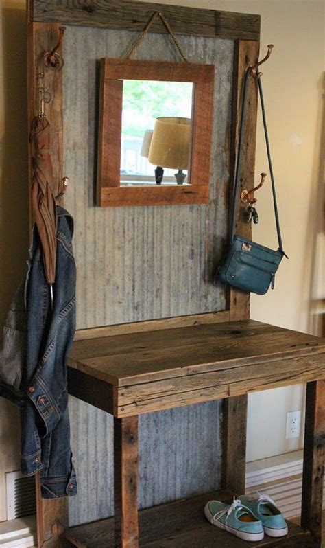 rustic entryway rustic furniture get that weary look