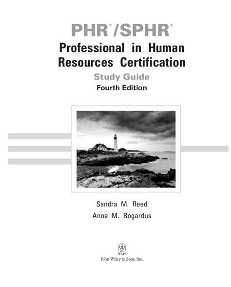 phr sphr professional in human resources certification study guide phr sphr professional in human resources certification