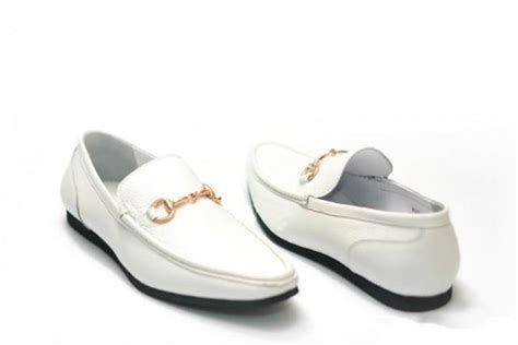 mens white leather loafers style mens white leather horsebit driving loafers