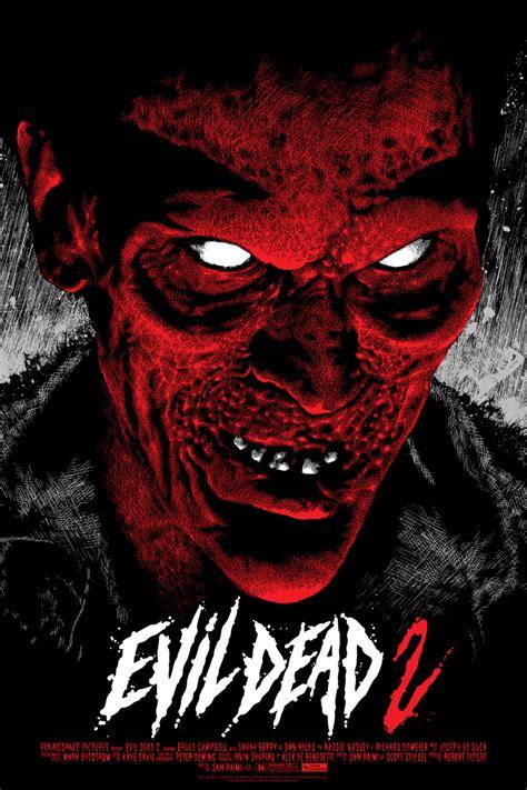 film evil dead 2 the invisible man evil dead 2 posters from mondo