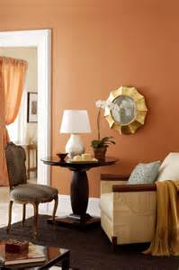 buttered yam benjamin moore orange