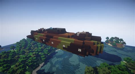 minecraft boat attack movecraft attack boat airship minecraft project