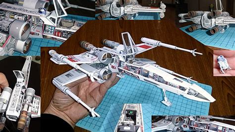 Sci Fi Papercraft - amazing sci fi ship replicas made using just paper sci