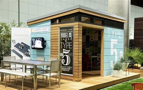 typography on small modern shed