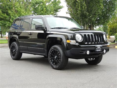 jeep patriot lifted 2016 jeep patriot latitude 4x4 heated seats lifted
