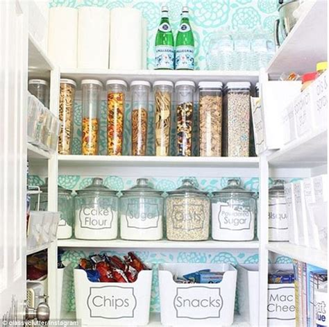 people share  perfectly organised pantries daily