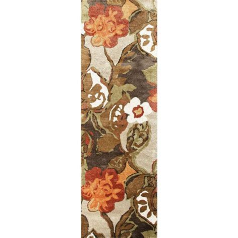 home decorators collection tufted white 8 ft x home decorators collection tufted white 2 ft 6 in x 8 ft floral rug runner rug100410