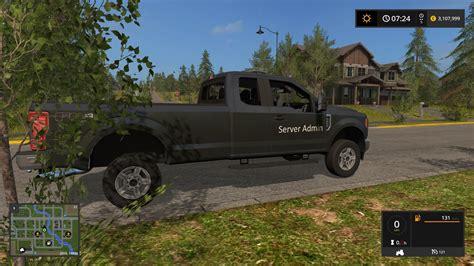 Ford F250 Chief by 2017 Ford F250 Chief V1 0 Fs17 Farming Simulator 17 Mod