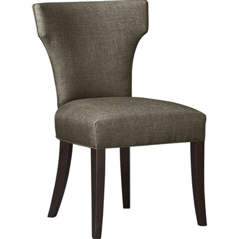 Crate And Barrel Dining Room Chairs Miles Amp Sasha Side Dining Chair At Crate And Barrel Chairs