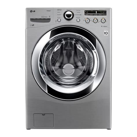lg wm3250hva 4 0 cu ft high efficiency front load washer with steam in graphite steel energy