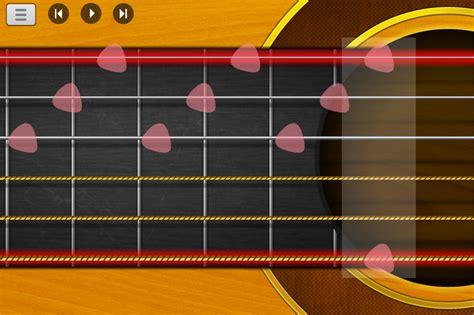 tutorial belajar memetik gitar belajar cara memetik gitar menggunakan aplikasi android