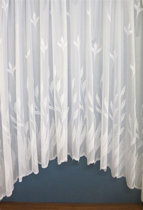 Willow White Modern Jardiniere Woodyatt Curtains