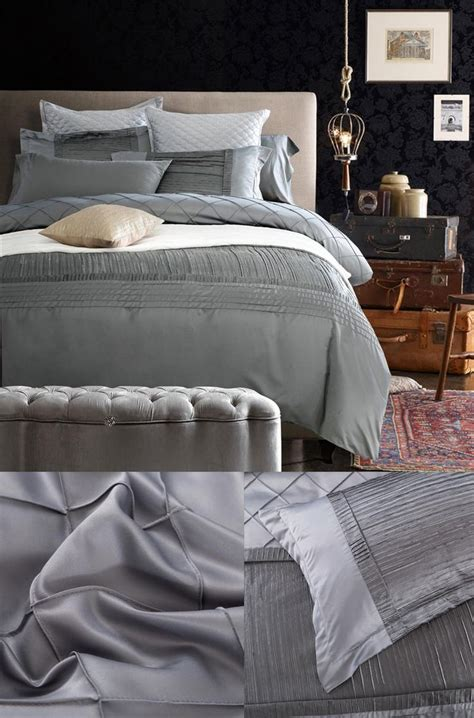 silk bedroom 10 ideas about silk bedding on pinterest comfy bed white gray bedroom and grey and white bedding