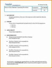 9 standard operating procedure template cashier resume