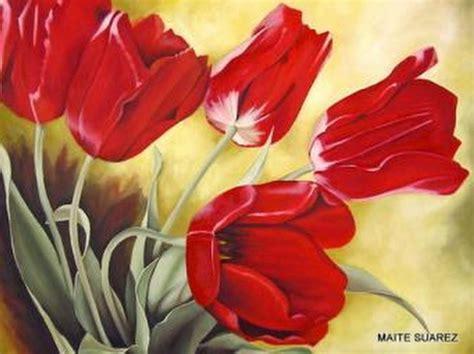 imagenes flores pintadas imagenes de flores pintadas en cuadros imagui