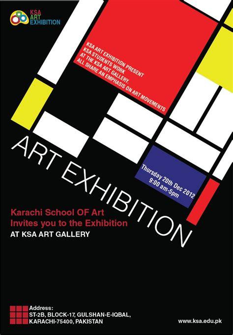 design poster art 44 best promotional art exhibition poster designs images