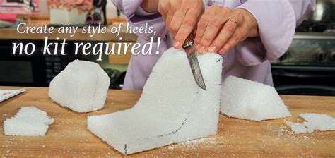 high heel fondant template make a high heel cake topper in craftsy s high fashion heels