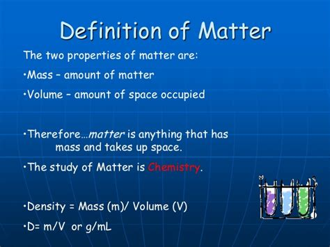 define matter classification of matter